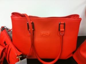 Nathan handbag red