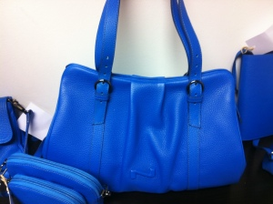 Nathan handbag blue