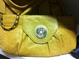 Yellow bag Pomme de Loveley