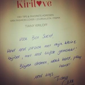 Kirilove Bien Sucré signature