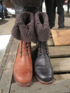 Timberland wollen boots