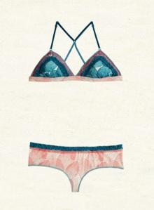 Maaji lingerie back detail