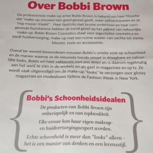 Bobbi's values