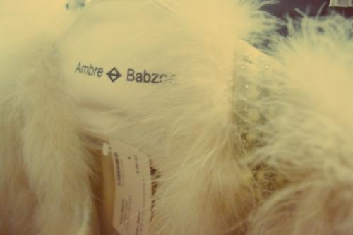 AMBRE BABZOE - Furry coat